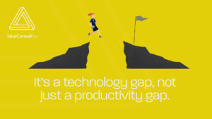 Productivity gap TotalControlPro